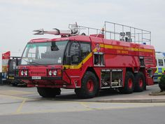 Humberside Airport Fire Crash Truck