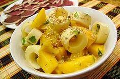 Salade à la mangue et aux coeurs de palmier