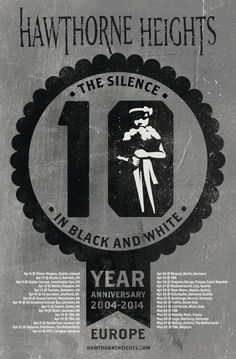 Hawthorne Heights announce 'The Silence In Black And White' 10 year anniversary world tour http://boystereo.com/MrXujh