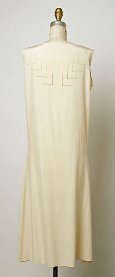 Dress (image 3 - back) | Madeleine Vionnet | French | 1932 | silk | Metropolitan Museum of Art | Accession Number: C.I.61.3.2