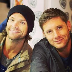 Jared Padalecki and Jensen Ackles; Supernatural