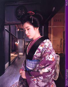 """吉永小百合 & kimono"" (1 of 7)"