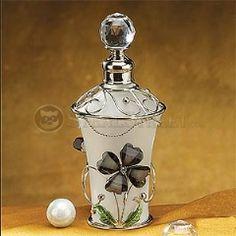 Feminine, perfume bottle