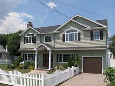 Oceanside, NY Full Dormer with 2nd Floor Addition over new Attached Garage - Great Additions Construction