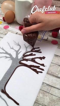 Cake Decorating Videos, Cake Decorating Techniques, Cake Decorating Frosting, Baking Recipes, Cake Recipes, Dessert Recipes, Kreative Desserts, Delicious Desserts, Yummy Food