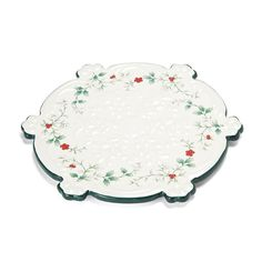 Pfaltzgraff Winterberry Snowflake Trivet  sc 1 st  Pinterest & Pfaltzgraff Winterberry Dinner Plate | PFALTZGRAFF COLLECTION ...