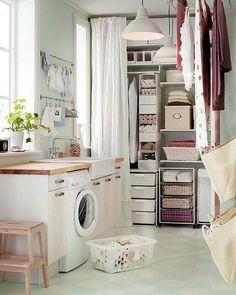 Zona de almacén en la cocina