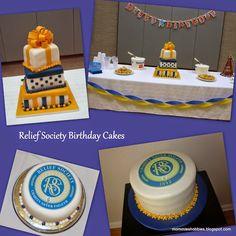 Idéias para o aniversário da sociedade de socorro.