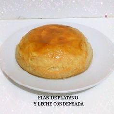 FLAN DE PLATANO Y LECHE CONDENSADA SIN HORNO!!! - Silvana Cocina y Manua...