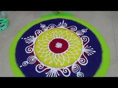 YouTube Rangoli Borders, Rangoli Border Designs, Rangoli Designs Diwali, Diwali Rangoli, Easy Rangoli, Simple Rangoli Designs Images, Beautiful Rangoli Designs, Sanskar Bharti Rangoli Designs, Latest Rangoli