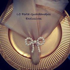 LC Porta Guardanapos Exclusivos: Pérolas                                                                                                                                                     Mais