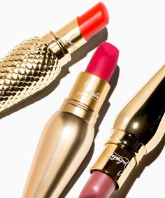 Christian Louboutin New Lipsticks | Christian Louboutin is launching a collection of lipsticks to go along with his prestige nail polish line. #refinery29 http://www.refinery29.com/2015/08/91861/christian-louboutin-new-lipsticks