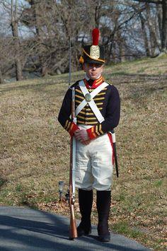 Fuciliere americano del U. Marine Corps Uniforms, Us Marine Corps, Military Uniforms, American Uniform, Independence War, British Uniforms, Usmc, War Of 1812, American Revolutionary War