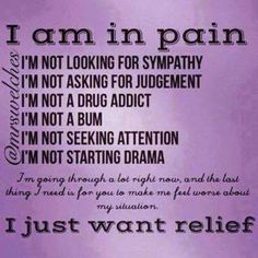 Hashimotos Disease & Chronic Pain............I just want relief!!!!.....I just want relief....