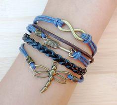 Welcome to my shop infinity Bracelet arrow by thejewelrybracelet, $5.99
