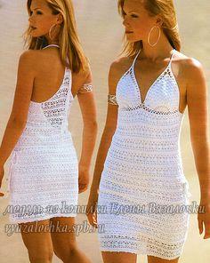 Vestidos de verano tejidos al crochet