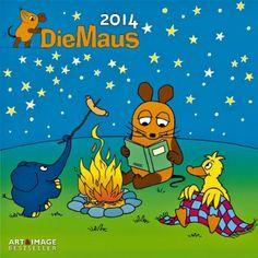 Der Kalender mit der Maus 2014. Broschürenkalender: Amazon.de: Bücher