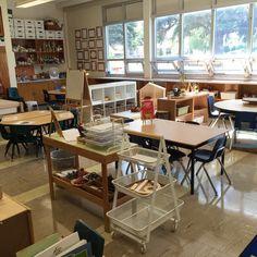 The third teacher: classroom layout 2016 reggio pre-school Kindergarten Classroom Layout, Full Day Kindergarten, Montessori Classroom, Classroom Design, Classroom Decor, Teaching Kindergarten, Classroom Organization, Classroom Projects, Future Classroom