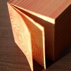Wood Grain Memo Block