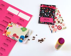 DIY Seed Packets (steps 4 & 5)   Corinna Wraps