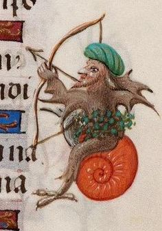 The Warrior (@BeineckeLibrary, MS 287, 15th c.)