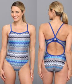 29445a42505 Speedo One Piece Hi Voltage Flyback. Be prepared to swim extra fast in this  swimsuit