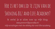 Mijn ervaringen met Leonie Dawson´s Shining Biz and Life Academy http://www.persoonlijkparadijs.nl/mijn-ervaringen-met-de-shining-biz-and-life-academy