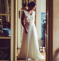 Wedding gown by Joana Montez.