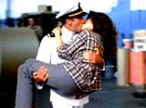 An Officer and a Gentleman- Best swept off her feet kiss. Movies Showing, Movies And Tv Shows, Debra Winger, An Officer And A Gentleman, Movie Kisses, Perfect Kiss, Best Kisses, Couple Romance, Richard Gere