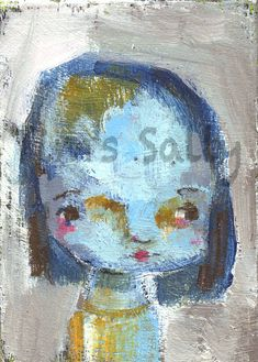 Becky Sue original by Mindy Lacefield by timssally on Etsy, $28.00
