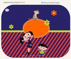 Olá  meninas, mais um Kit para você alegrarem um pouco a festinha da criançada...agora é a vez do Show da Luna (com o Cláu...