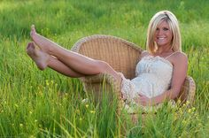 Chair and Field, wish I still had my wicker chair! Could use grandmas wrought iron table & chairs at the farm.