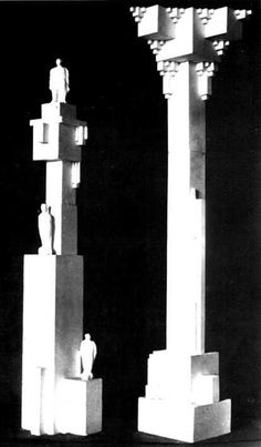 Two Architectons 1923-1927
