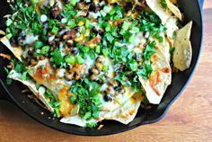 Pumpkin Chorizo Nachos from How Crazy Cooks