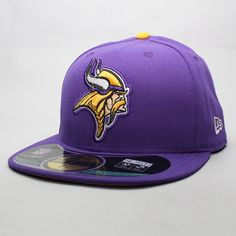 Foto principal de Boné New Era 59FIFTY NFL On Field Minnesota Vikings Roxo  Boinas d8946b2b60e