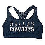 Dallas Cowboys PINK Lace Yoga Bra