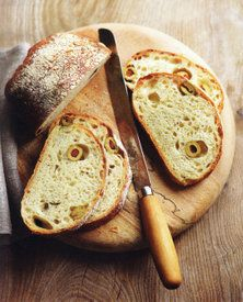 Olive and Herb Bread by Emmanuel Hadjiandreou, from How to Make Bread