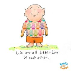 We are all little bits of each other. Art: Molly Hahn