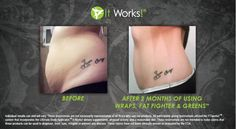 WOW! Check out these amazing results! It's customer appreciation week @ GetFitBeFab!!! 2 wraps for $40!!!