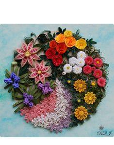 インストラクターギャラリー  -from Botanical Quilling Japan