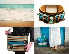 Colors of Earth and Sea by sevilay on Etsy--Pinned with TreasuryPin.com
