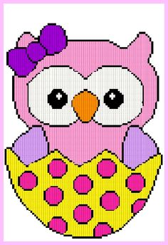 EASTER GIRL OWL 2014  PDF EMAILED $2.00