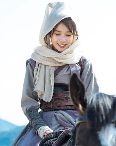 Image may contain: one or more people and closeup Korean Celebrities, Korean Actors, Korean Dramas, Scarlet Heart Ryeo Wallpaper, Iu Twitter, Cut Out People, Warrior Girl, Vintage Dress Patterns, Cute Poses