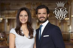New official photo of Prince Carl Philip and Sofia Hellqvist