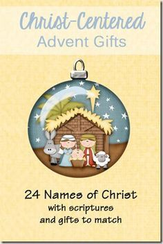 family home evening on names of Christ