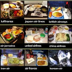 airline food - Google Search
