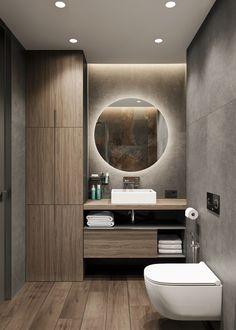Bathroom decor, Bathroom decoration, Bathroom DIY and Crafts, Bathroom Interior design Washroom Design, Toilet Design, Bathroom Design Luxury, Modern Bathroom Design, Bad Inspiration, Bathroom Inspiration, Bathroom Ideas, Farmhouse Bathroom Mirrors, Master Bathroom