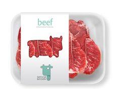 SATOOR BUTCHERY designed by IMAGE Vacuum Packaging, Bakery Packaging, Food Packaging Design, Meat Box, Fresh Shop, Butcher Shop, Meat Chickens, Dog Treats, Beef