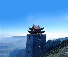 """Fansipan has been widely known as the highest mountain in Vietnam and """"the Roof of Indochina"""". Conquest of Fansipan is dream of many professional climbers as well as adventurous travelers when they come to Vietnam. #VietNam #travel #destinations #southeastasia"""
