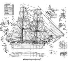 SHIPMODELL: handcrafted boat and ship models. Ship model plans , history and photo galleries. Ship models of famous ships. Model Ship Building, Boat Building Plans, Model Sailing Ships, Model Ships, Sloop Of War, Rc Boot, Model Boat Plans, Vintage Boats, Wood Boats